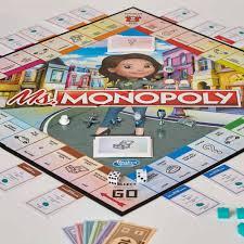 Настольная игра <b>Мисс</b> Монополия <b>Hasbro</b> E8424 купить в ...