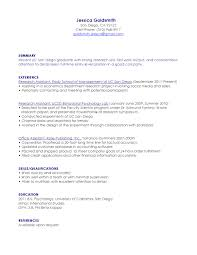 research assistant resume san diego s assistant lewesmr chemistry research assistant resume sle sample resume resume jessica goldsmith san diego entry