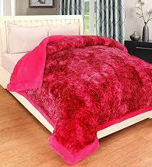 Peponi Micro Fibre Warm Heavy Ultra-<b>Soft</b> Reversible Double Bed ...