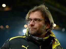 Borussia Dortmund manager Jurgen Klopp spoke to the press after his team's 3-0 loss to Bundesliga leaders Bayern Munich on Saturday. - Jurgen-Klopp