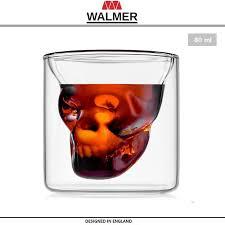 <b>Термобокал SKULL</b>, <b>80</b> мл, термостойкое стекло, <b>WALMER</b> ...
