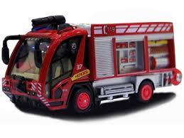 <b>Радиоуправляемая пожарная машина MYX</b> City Hero 1:87 - 7911 ...