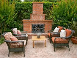 size fireplace wood patio chairs brick build your own outdoor fireplace designs with rattan wicker chai