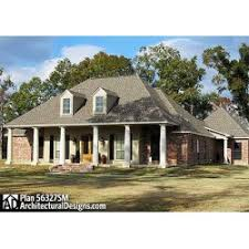 Acadian House Plans   Eurohouse Bed French Acadian House Plan