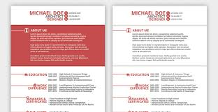 top  resume templates ever   the musecreative market red resume template