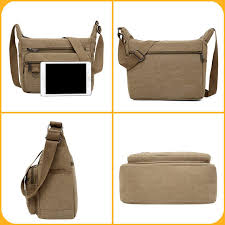 Amarte 2019 New Fashion <b>Vintage Men</b> Canvas Handbags <b>High</b> ...
