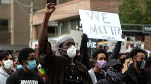 Thousands rally in Toronto against anti-<b>black</b> racism after <b>woman</b> ...