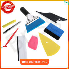 9in1 <b>Car</b> Body Decals Wrapping Tint Tool Vinyl Squeegee Felt ...