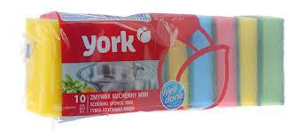 "<b>Губки</b> для мытья посуды <b>York</b> ""Миди"", 10 шт — купить в интернет ..."