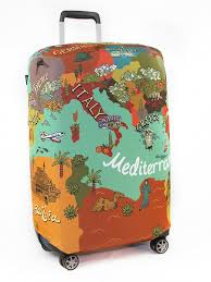 <b>Чехол для чемодана</b>, Размер L 75*85 см, серия Travel, дизайн ...