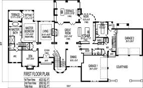 Dream House Floor Plans Blueprints Story Bedroom Large Home    Awesome Cool Bedroom Dream Home Plans Indianapolis Ft Wayne Evansville Indiana South Bend Lafayette Bloomington