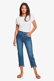 Светло-серые <b>джинсы</b> женские <b>Roxy</b> в интернет-магазине