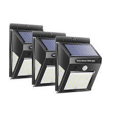 30 LEDs <b>Solar Light</b> PIR Motion Sensor Wall <b>Lamp Human Body</b> ...