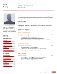 attractive information make a cv or resume