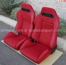red on pinterest honda recaro seat office