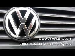 2004 VW <b>TDi</b> Jetta 5 Speed Manual, <b>Chrome</b> Trim, CD Player ...