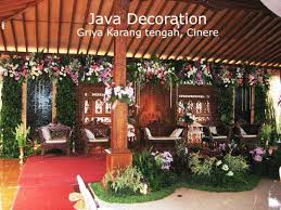 dekorasi pelaminan adat jawa: Java decoration pelaminan nasional amp traditional
