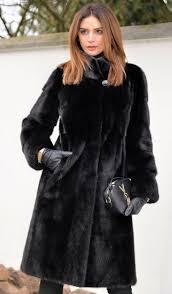 mink furs - milano black saga mink <b>fur coat 2017</b>/2018 | Furs models ...