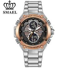 Shop <b>Smael</b> Men <b>Digital Sport Watch</b> Clock Led Military Analog ...