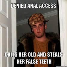 Scumbag Steve - Scumbag Steve Meme Generator - denied **** access ... via Relatably.com