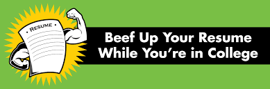 beef up your resume while in college student health and beef up your resume while in college