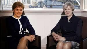 """Résultat de recherche d'images pour """"Theresa May et Nicola Sturgeon"""""""
