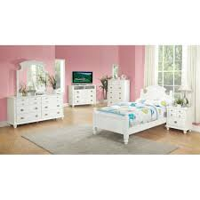 maya full size 5pc bedroom set cherry white finish white bedroom set full size designstrategistco bedroom white bed set kids beds