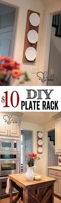 home decor plate x: super cute and easy diy plate rack cheap too love would be perfect