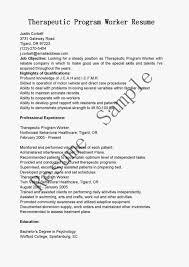 resume samples therapeutic program worker sample resume resume samples therapeutic program worker sample