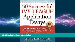 successful ivy league application essays book 00 15