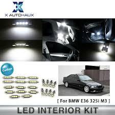 <b>13x Blue</b> Interior LED <b>Lights</b> Combo for BMW E36 328i 325i 318i ...