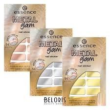 Наклейки для ногтей Metal Glam (<b>Essence</b>) купить в Интернет ...