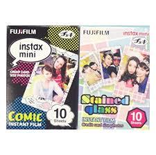 Buy <b>Fujifilm</b> Instax Mini Instant Film <b>10 Sheets</b> × 2 Packs (Comic ...