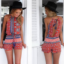 <b>2016 new arrival</b> summer romper western fashion women ...