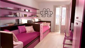 kitty themed bedroom ideas pink solid