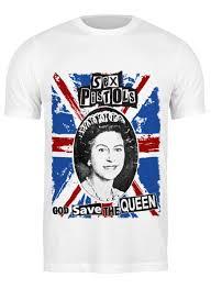 <b>Футболка классическая Sex</b> Pistols / God Save The Queen ...