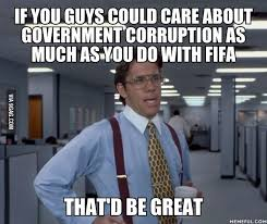 FIFA corruption - 9GAG via Relatably.com