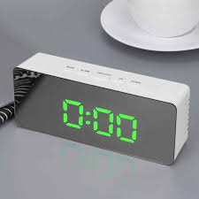 New Desk Table Clocks with Thermometer <b>LED Digital</b> alarm clock ...