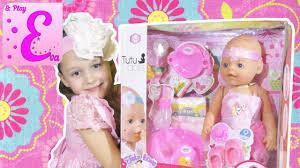 <b>Кукла</b> Baby Born против <b>Tutu</b> Dolls распаковка аналога [Eva and ...