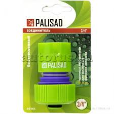 Palisad 66160 <b>Соединитель пластмассовый</b>, быстросъемный ...