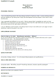 resume objective examples for warehouse workers resume general    general worker resume examples general warehouse worker resume sample livecareer best data entry clerk resume example