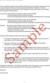 the system is designed as a ready made template for salon and spa technicians business structure manual salon policy handbook procedure manual salon procedure training