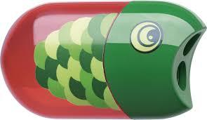 <b>Faber</b>-<b>Castell</b> Точилка с контейнером и <b>ластиком Рыбка</b> — купить ...