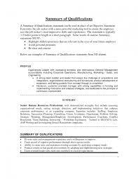 resume examples hvac resume objective summary of skills summary example for resume skills summary for resume qualification summary resume no experience skills summary for