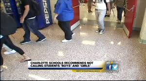 Charlotte schools: Don'<b>t</b> refer to <b>kids</b> as <b>boys</b>, <b>girls</b>