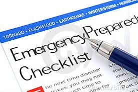hurricane preparedness emergency checklist