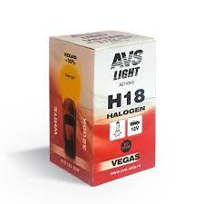 Галогенная <b>лампа AVS Vegas</b> H18.12V.65W (1 шт.)
