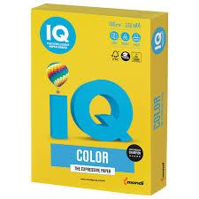 Купить <b>Бумага цветная IQ</b> color, А4, 160 г/м2, 250 л., интенсив ...