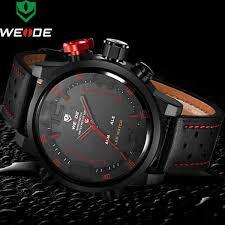 Watches <b>Men WEIDE</b> Brand <b>Men Army Military Sports</b> Watches ...
