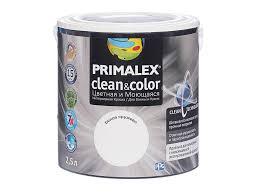 <b>Краска Primalex Clean&Color Белое</b> кружево 2,5л